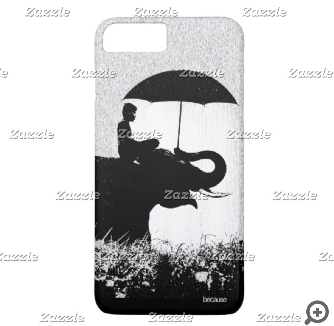 Elephant rain Phone Cases