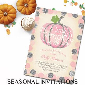 Seasonal Invitations
