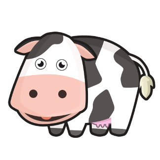Kawaii Cow