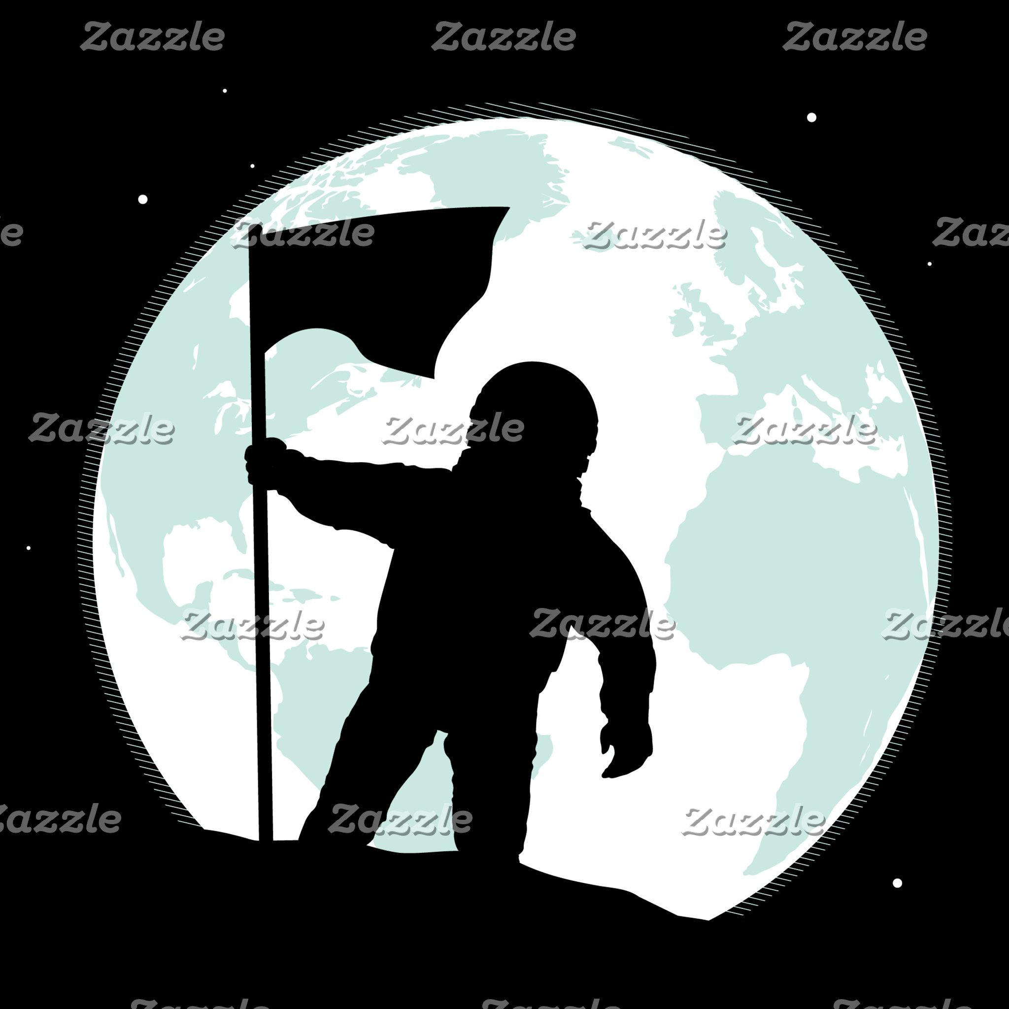 Astronaut Silhouette