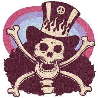 Retro Rocker Skull