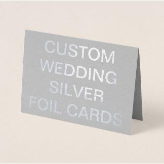 Silver Foil Cards