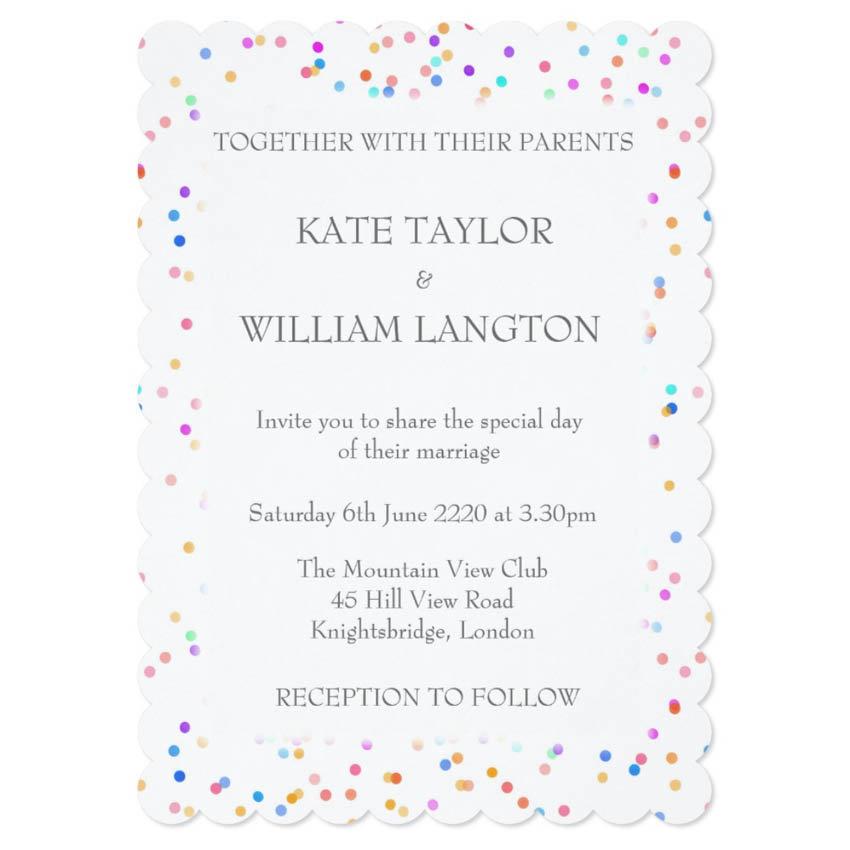 Wedding, Anniversary, Engagement Invitations