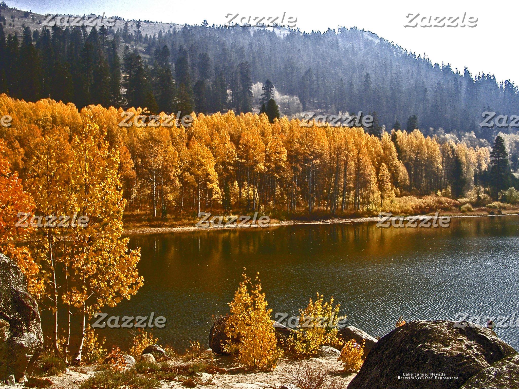 Lake Tahoe Fall / Winter Landscape