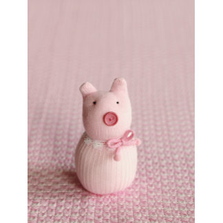 """Knit Pig Photo Poster Print"""