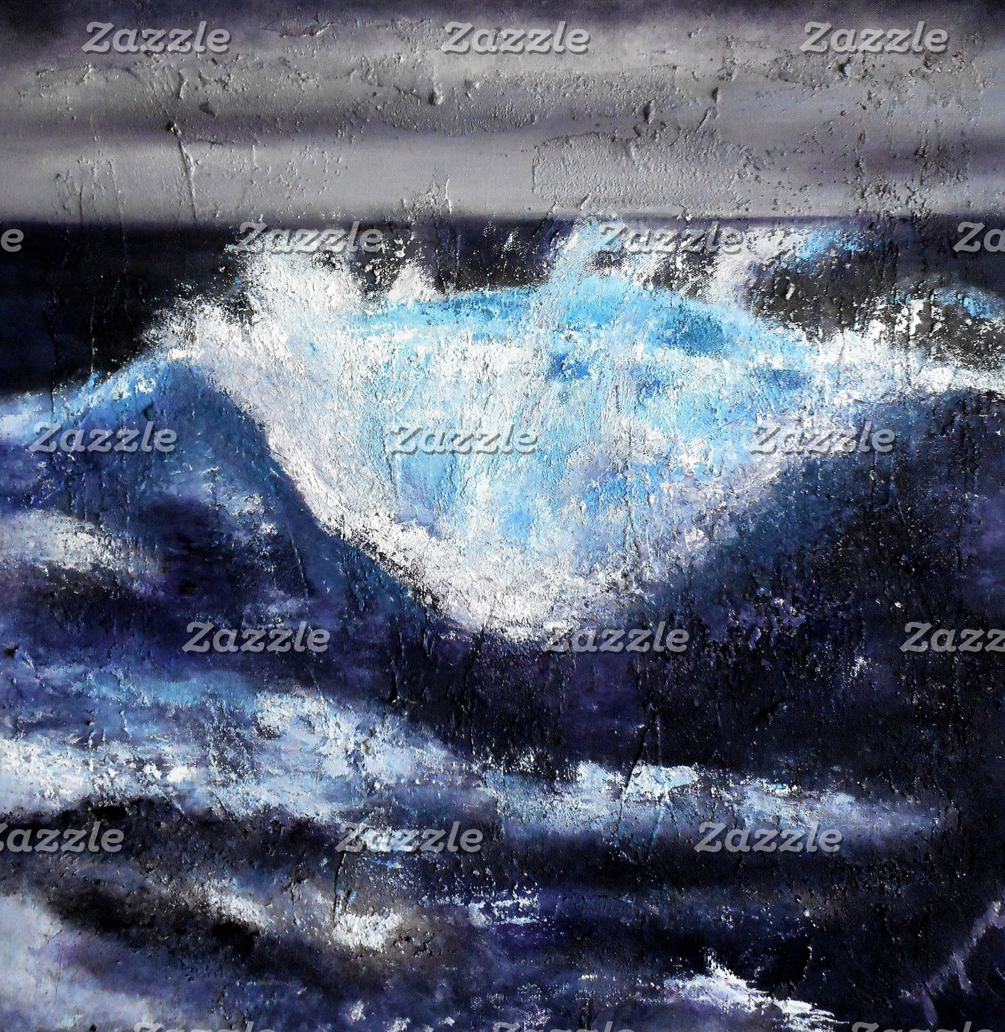 Single Blue Wave