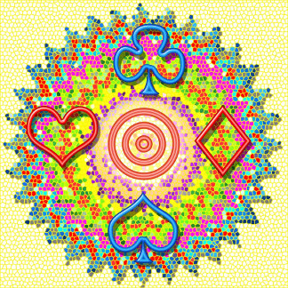 82 symbol art POKER NIGHT