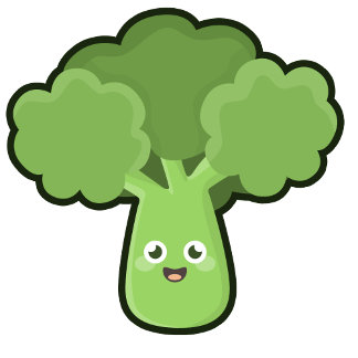 Kawaii Broccoli
