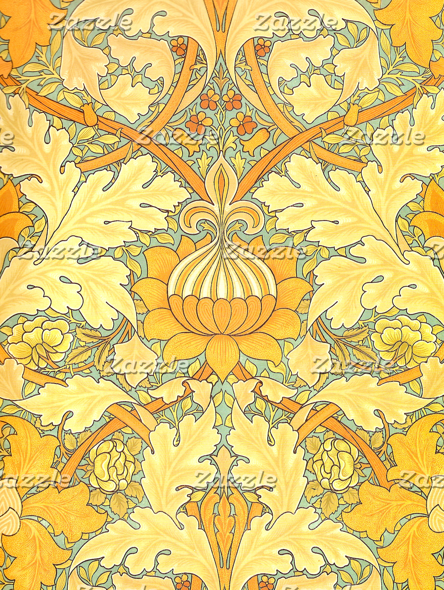 William Morris St. James Place Wallpaper