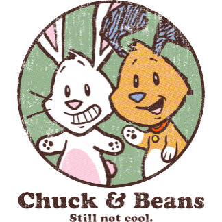 Chuck & Beans Vintage Circle Logo