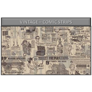 Vintage – comic strips