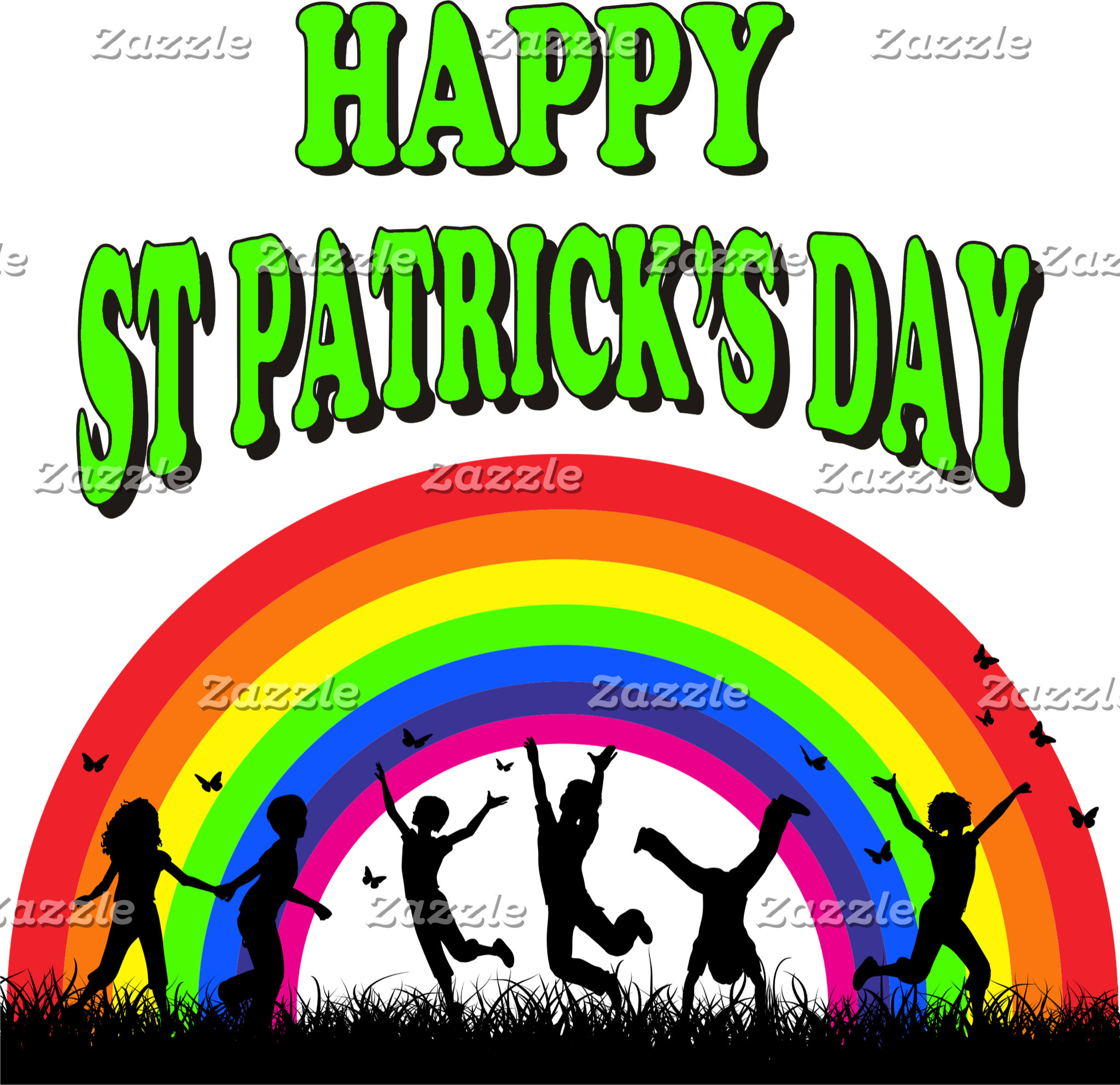 Happy St Patrick's Day T-Shirts Gift Cards