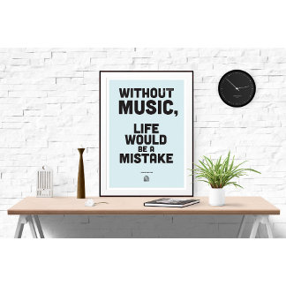 Philosophy Poster - Typography Quote