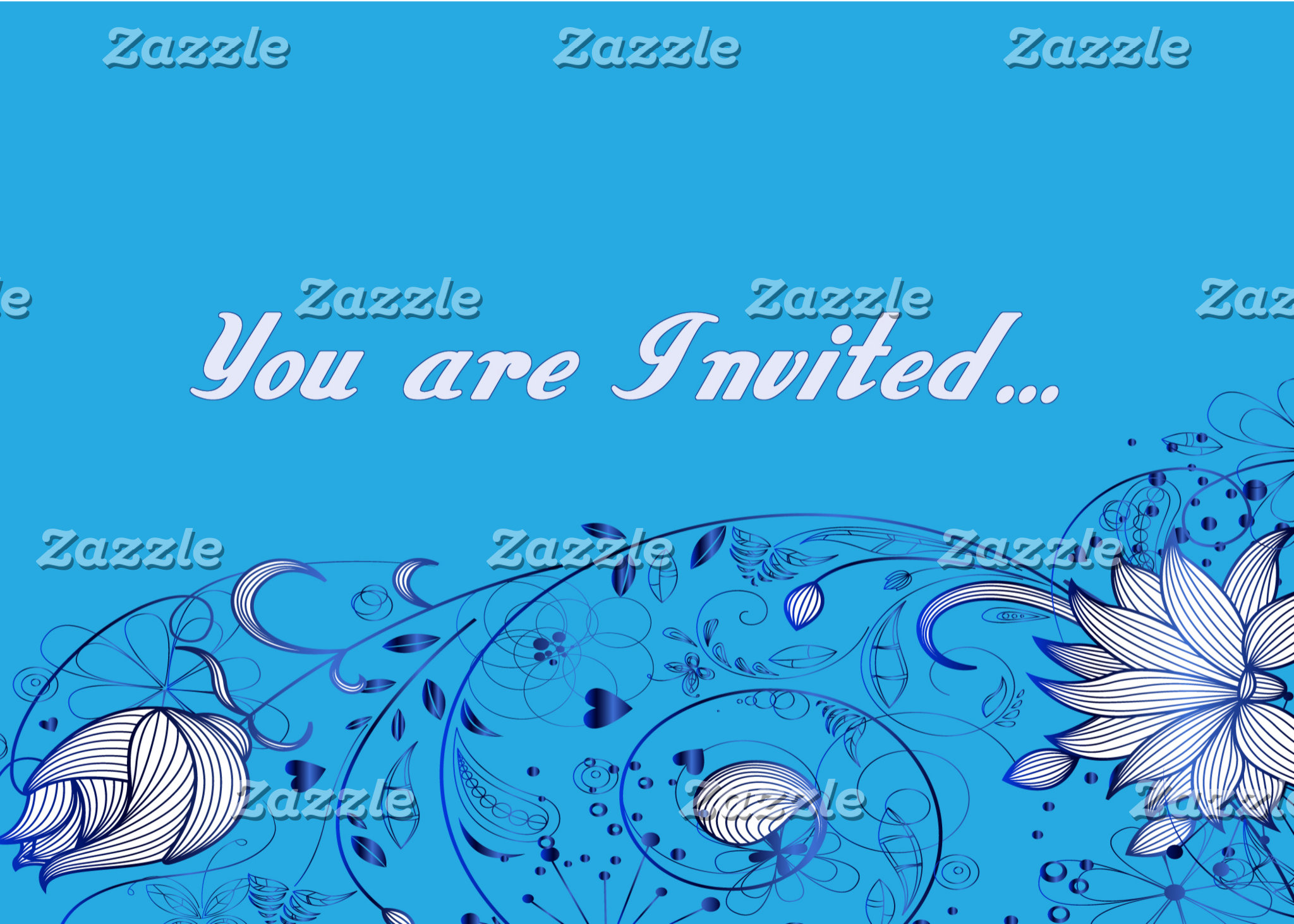 Invitations - Custom Cards for all events