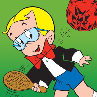 Richie Rich Paddle Ball