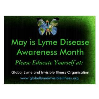 Lyme Disease Awareness Yard Signs