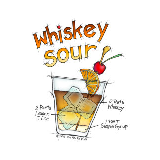 aa. WHISKEY SOUR RECIPE COCKTAIL ART