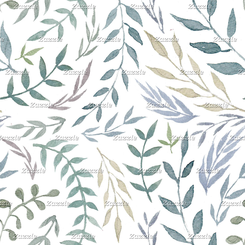 Watercolor Foliage