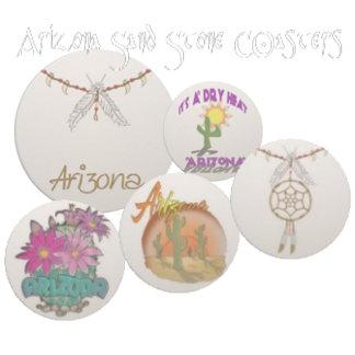 Arizona Sandstone Coasters