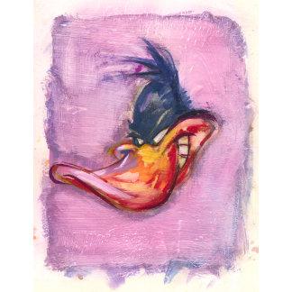 Daffy Duck  in Purple