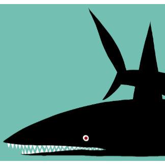 """Black Shark Poster Print"""