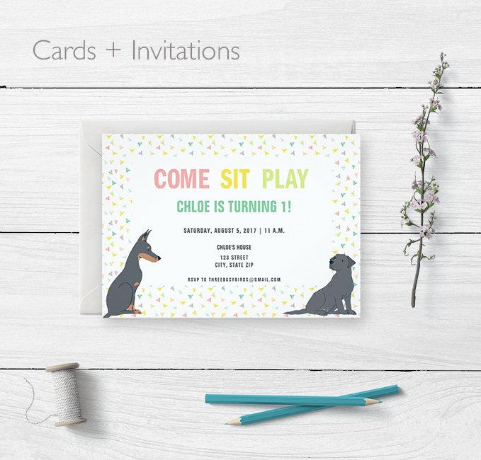Cards + Invitations