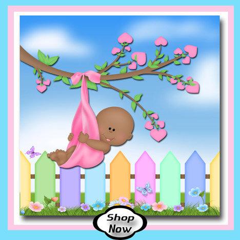Black Baby Girl - Backyard Baby Gifts