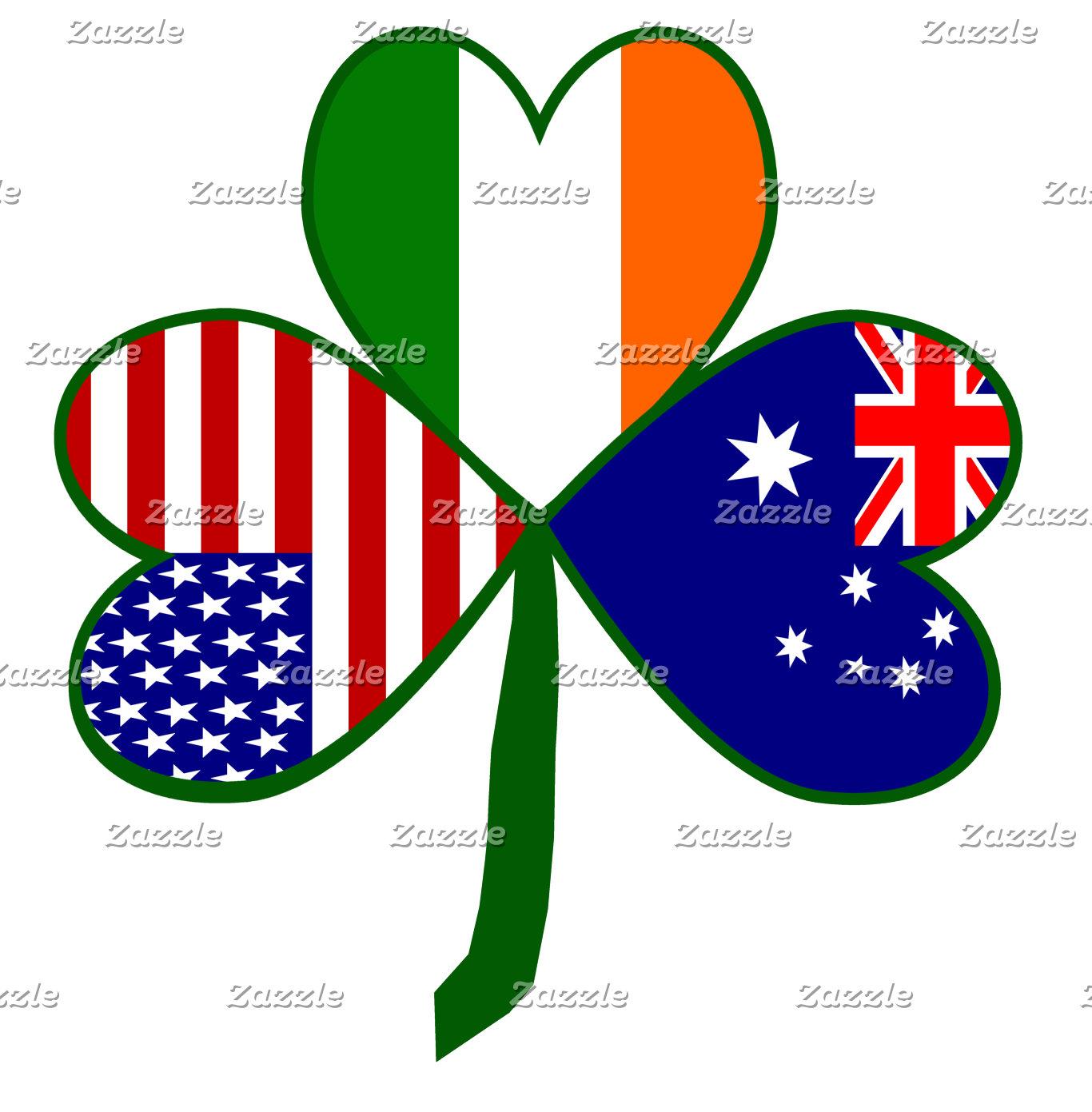 Australia Shamrock Flag