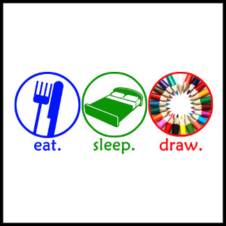 Eat Sleep Draw
