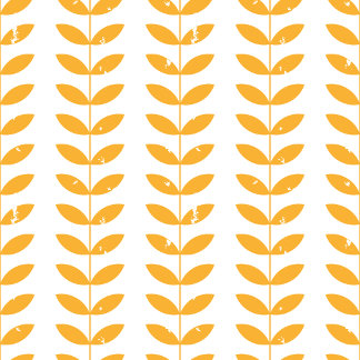 Scandinavian retro style yellow twigs