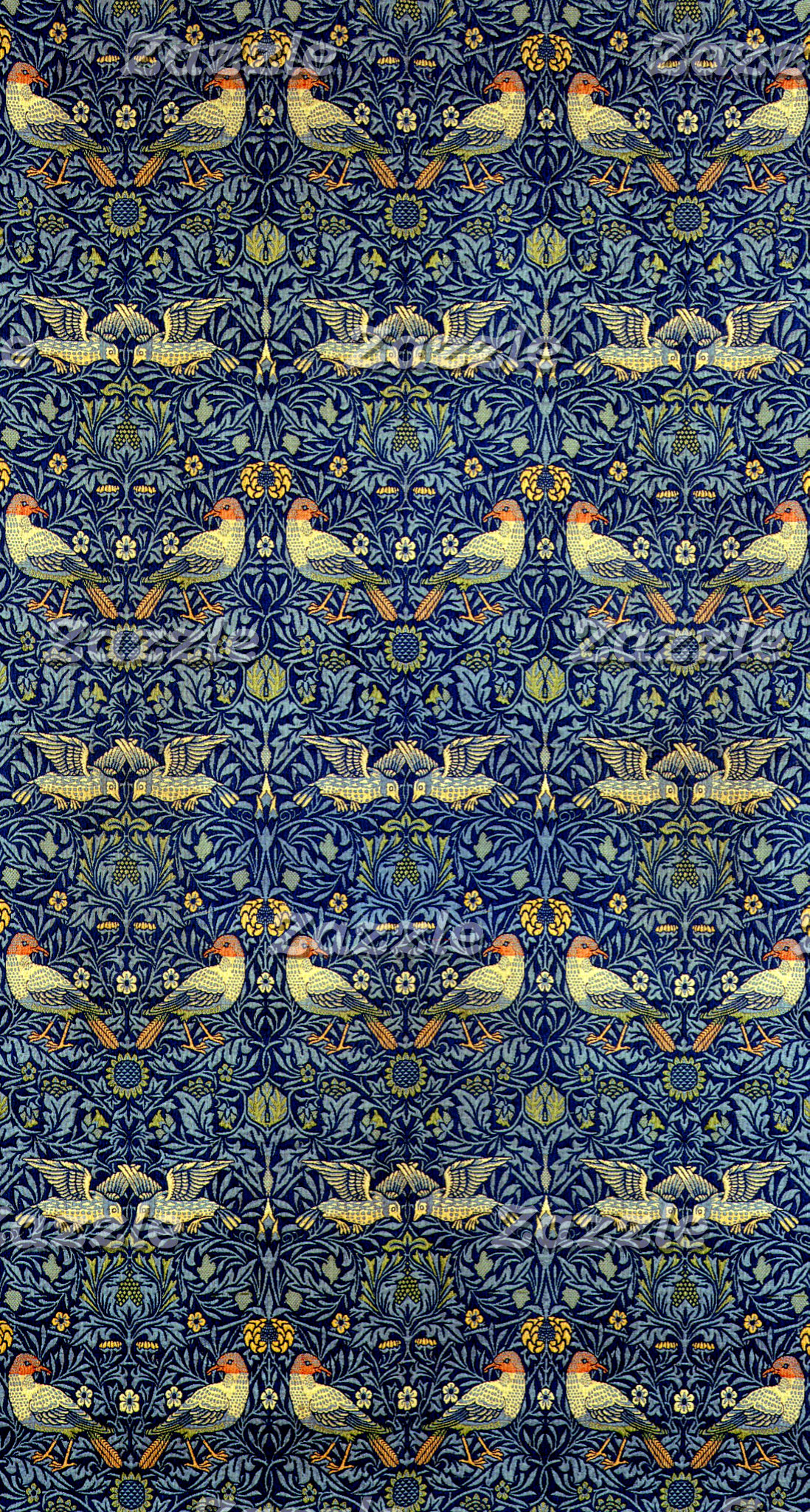 William Morris Bird Pattern