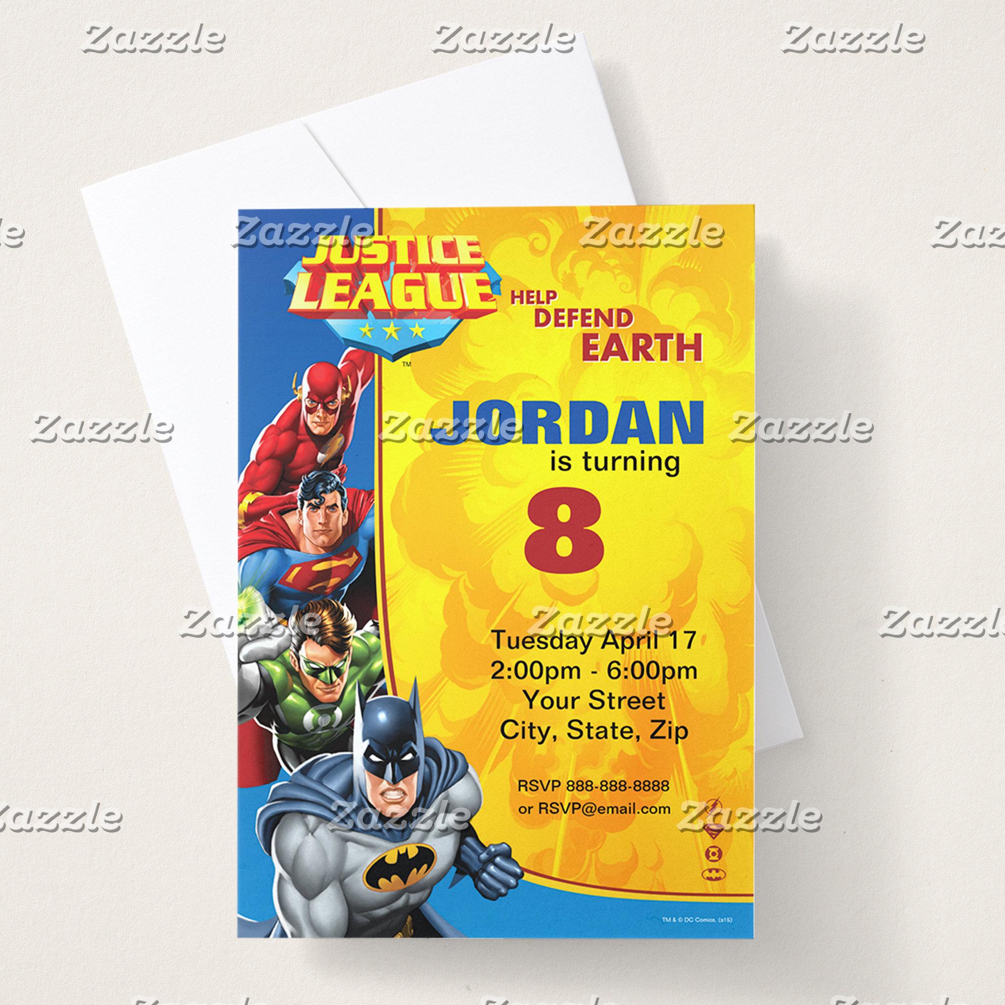 Justice League Birthday