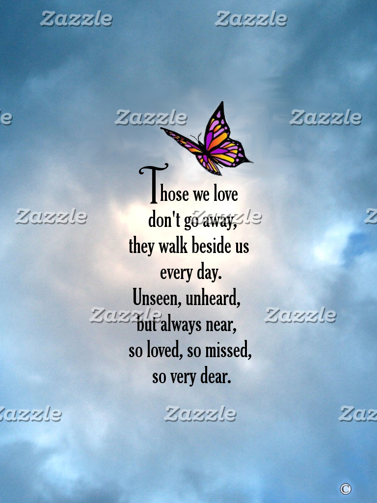 "Butterfly ""So Loved"" Poem"
