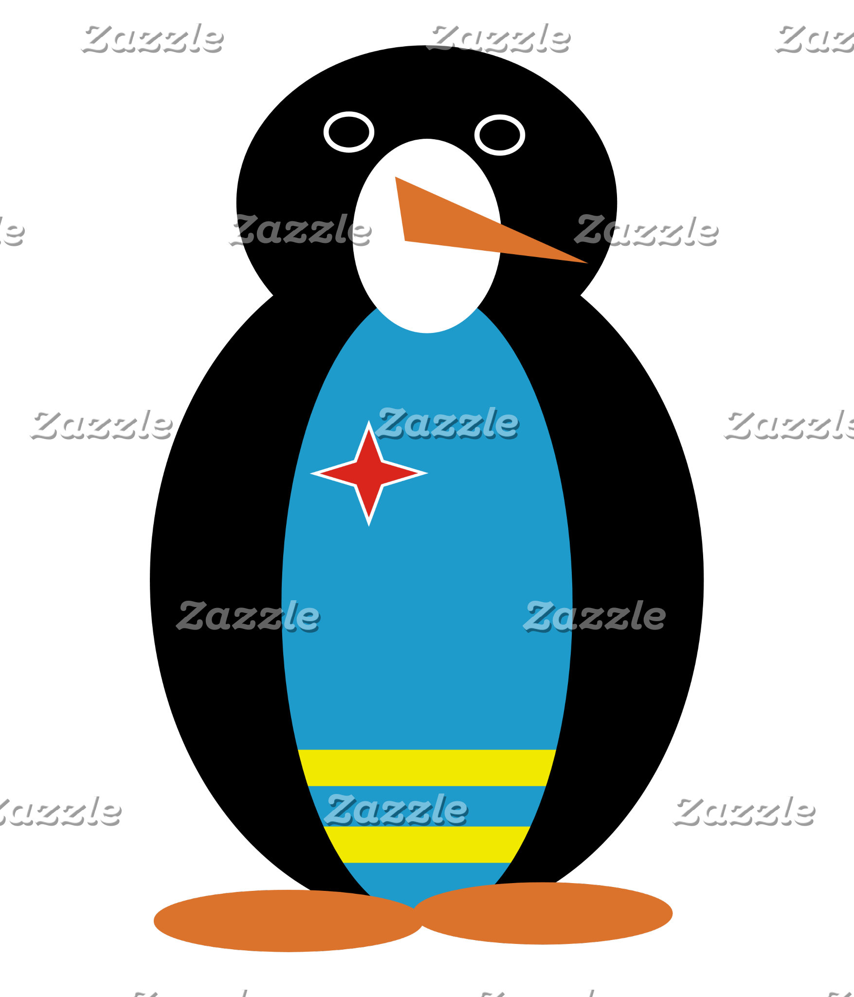 Aruban Holiday Mr. Penguin