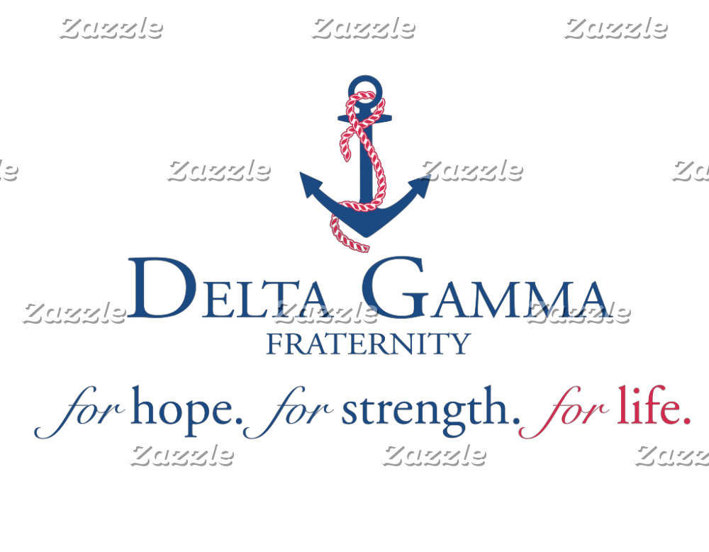 Delta Gamma Logo with Phrase