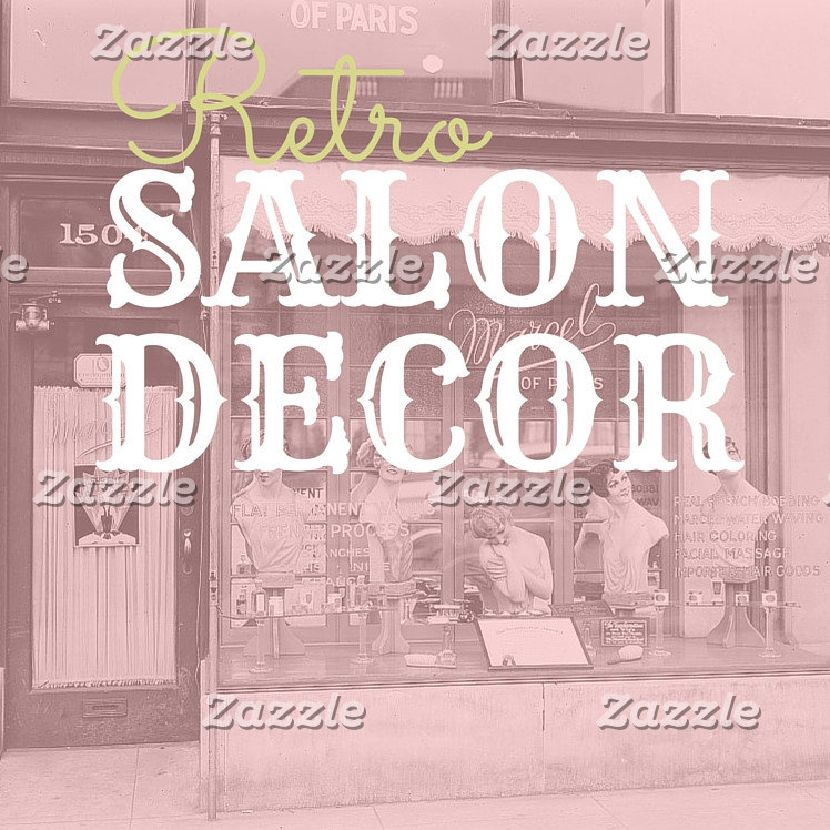 Retro Salon Decor