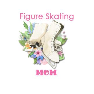 (B) Pretty Pink Figure Skating Mom
