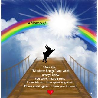 Rainbow Bridge Memorial for Rabbits