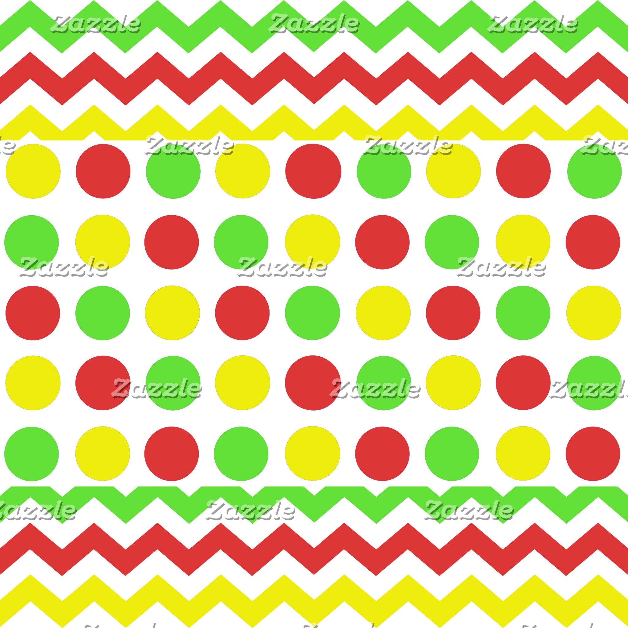 Artsy Polka Dots