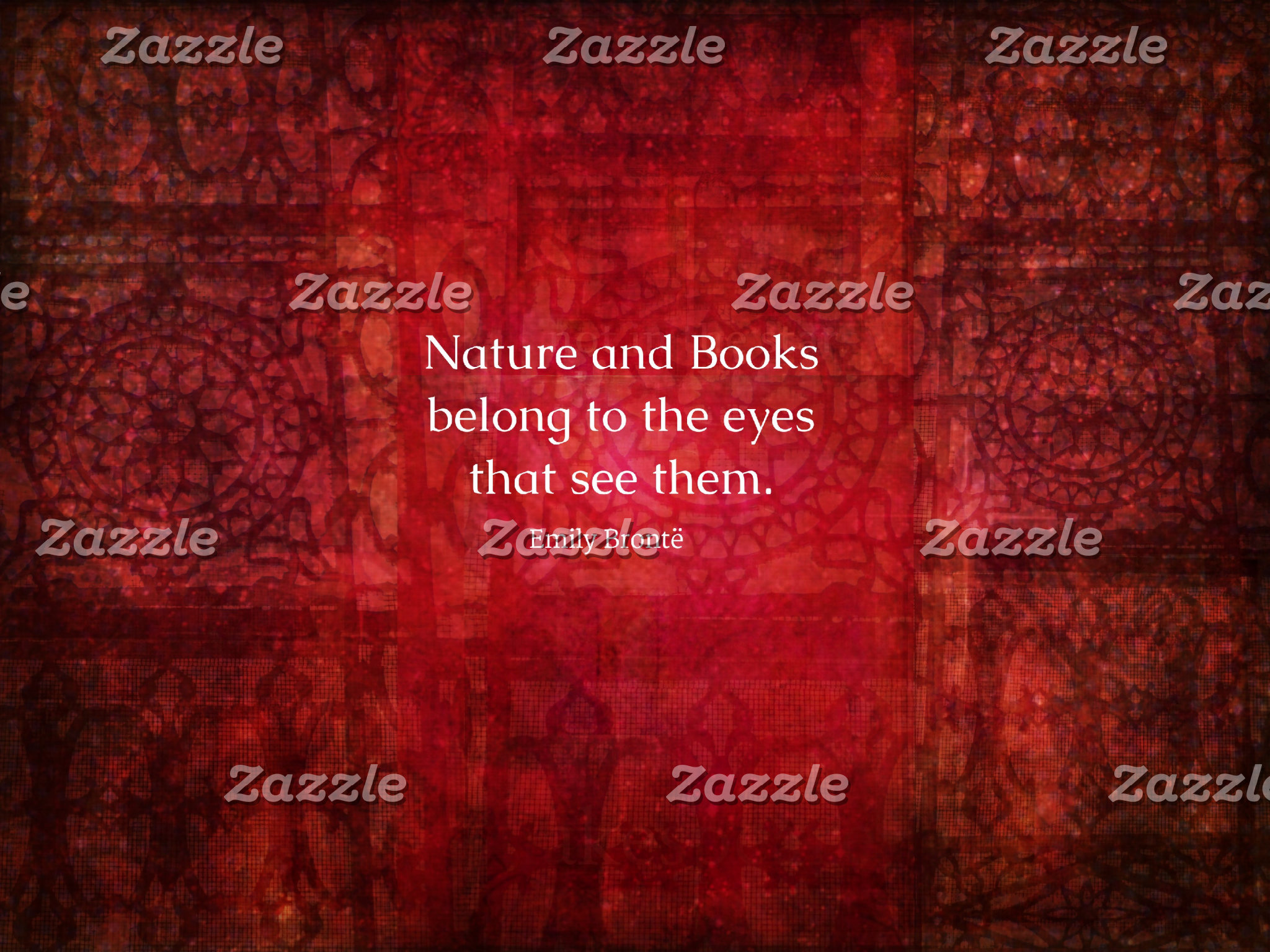 Nature and Books belong to the eyes that see them