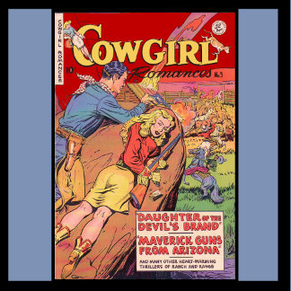 Cowgirl Comic
