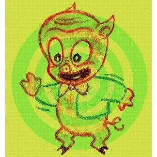 Porky Pig Target Practice