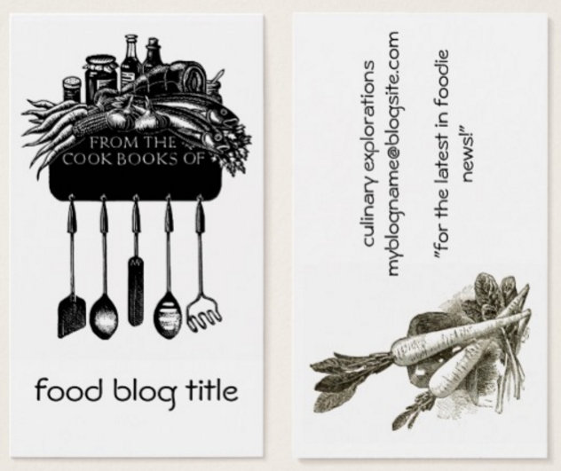 Blogs and Bloggers Profile Cards