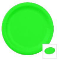 Plain Coloured Paper Plates