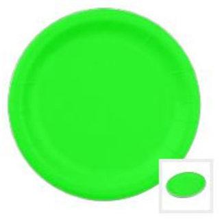 Plain Coloured Paper Plates