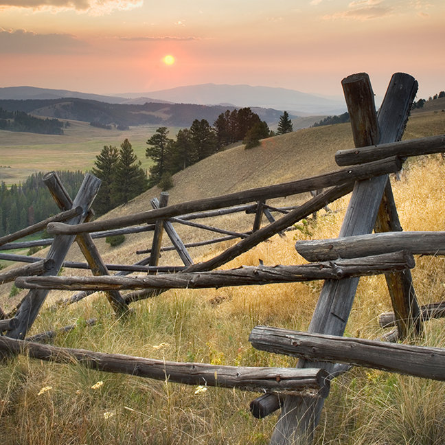 Granite County Sunset, Montana
