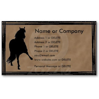 Gaited Business Cards