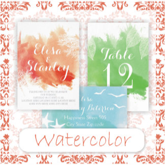 Modern watercolor splash