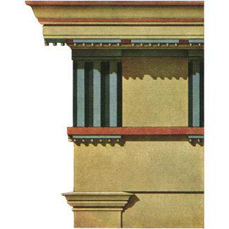 Temple Entablature