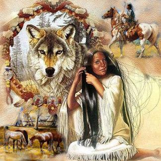 Tribal-Native American